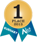 2013 Burnaby A-List Ribbon