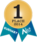 2014 Burnaby A-List Ribbon