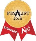 2015 Burnaby A-List Ribbon